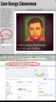 Save George Zimmerman and Paypal Billing Page