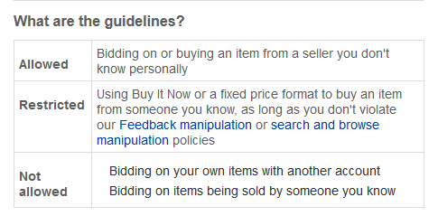 When Did Ebay Change It S Shill Bidding Policy Cappnonymous