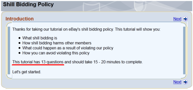 When And Why Did Ebay Change It S Shill Bidding Tutorial Cappnonymous