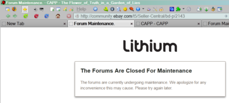 The Forums Are Closed For Maintenance_20130805_640c