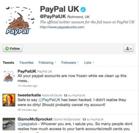 Hacking Paypal: The finest in optional entertainment! ;p image by huffingtonpost.com